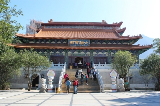 Po Lin Tempel, Hongkong